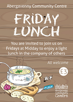 Friday Lunch Poster